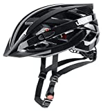 uvex Unisex– Erwachsene, i-vo 3D Fahrradhelm, black, 56-60 cm