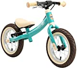 BIKESTAR Kinder Laufrad Lauflernrad Kinderrad für Jungen und Mädchen ab 3-4 Jahre | 12 Zoll Sport Kinderlaufrad | Türkis | Risikofrei Testen