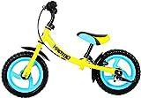 HAPTOO Laufrad ab 2 Jahre Junge Kinder Junge (2-4 Jahre Banane mit Bremse)