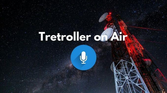 Tretroller im Radio und Podcast