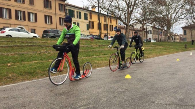 Bruno Romani Footbike