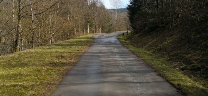 Obernautalsperre 10 km Rundweg