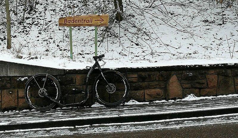 tretroller im schnee wettkampf