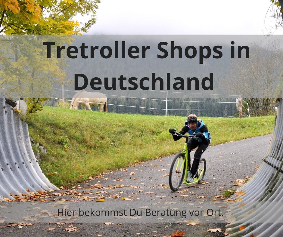 Tretroller Shops in Deutschland Übersicht