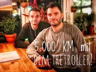 5000 km tretroller usa