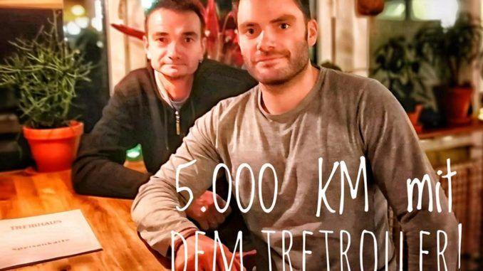 5000 km tretroller usa