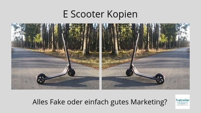 e scooter kopien