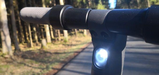 LED Leuchten am Ninebot ES2
