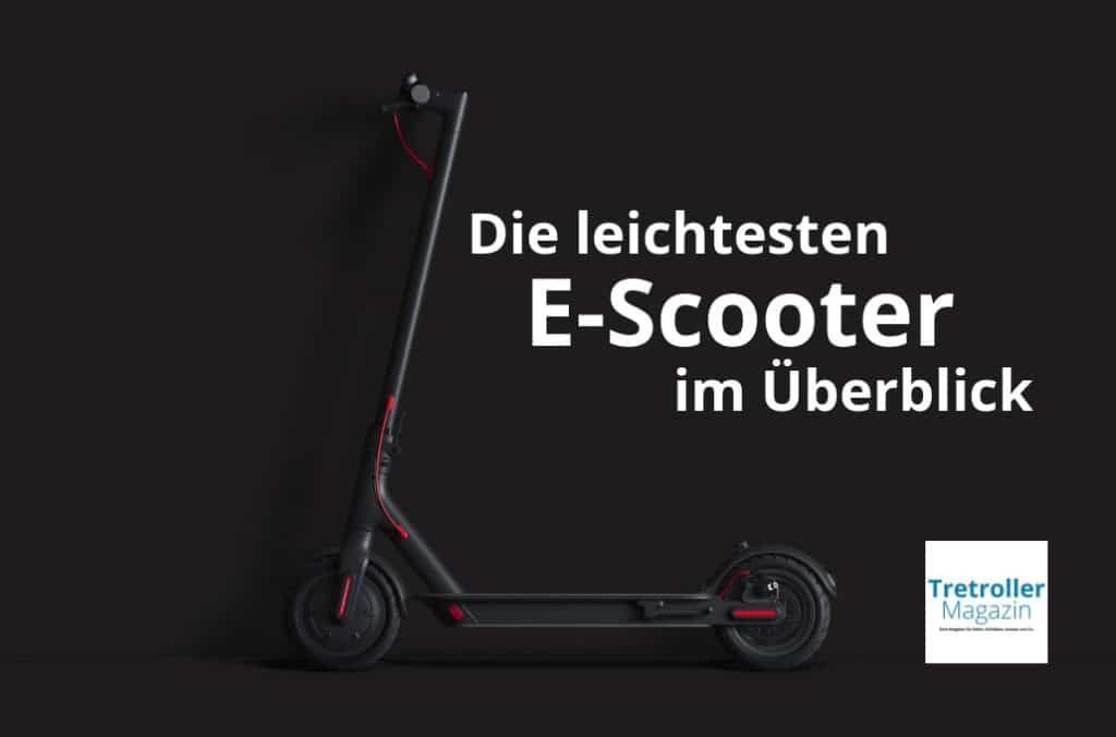 leichteste e scooter vergleich