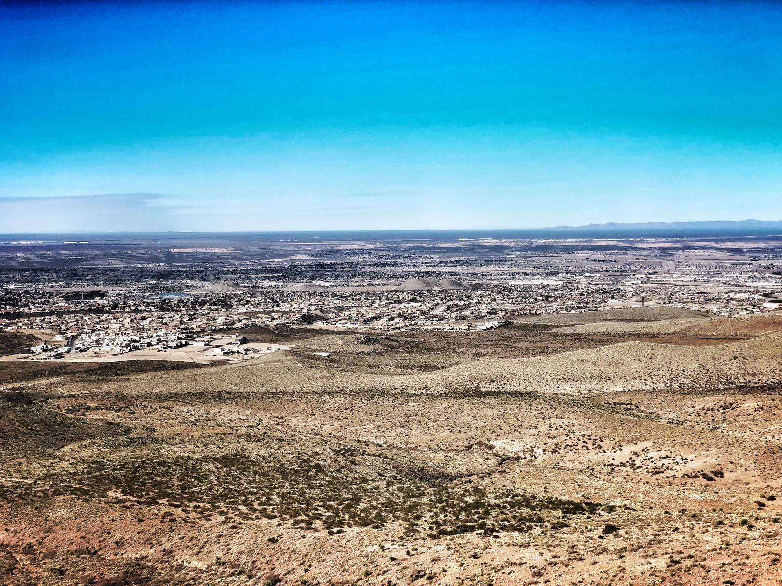 Fantastische Aussicht auf El Paso.