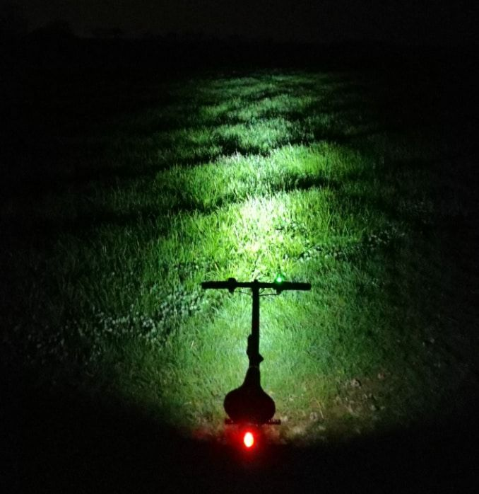 Beleuchtung bei Dunkelheit
