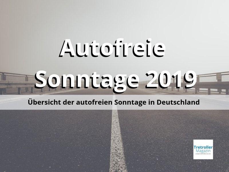 autofreier sonntag 2019