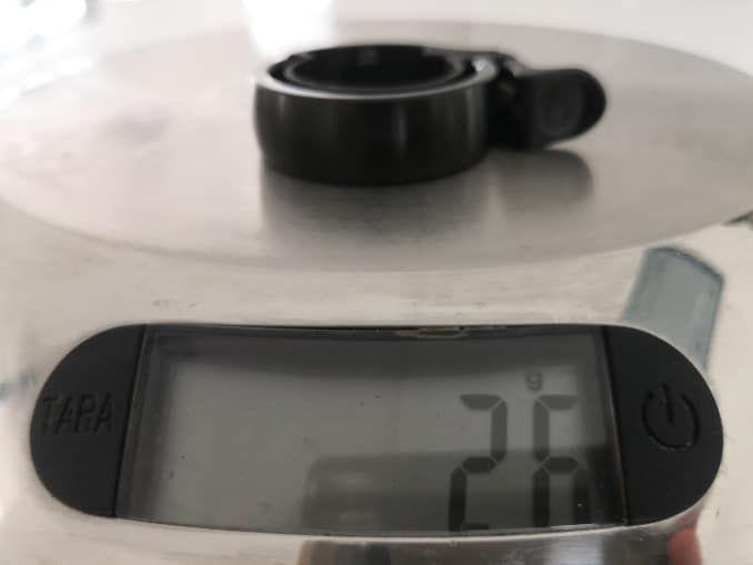 knog oi gewicht test